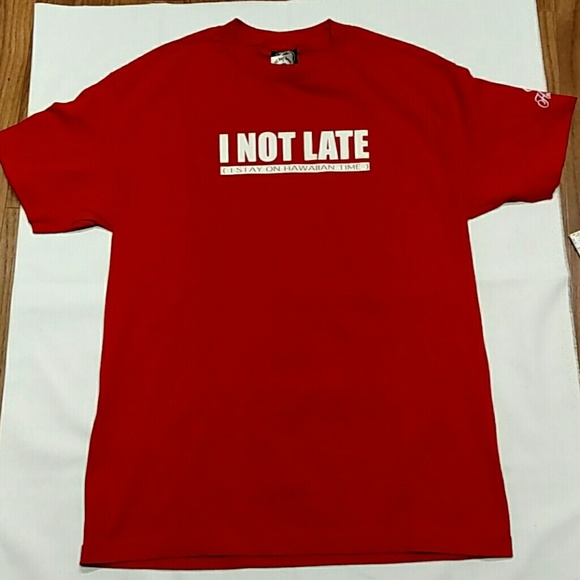 T&C Surf Hawaii Other - T&C Surf Hawaii Red t-shirt with saying size Large
